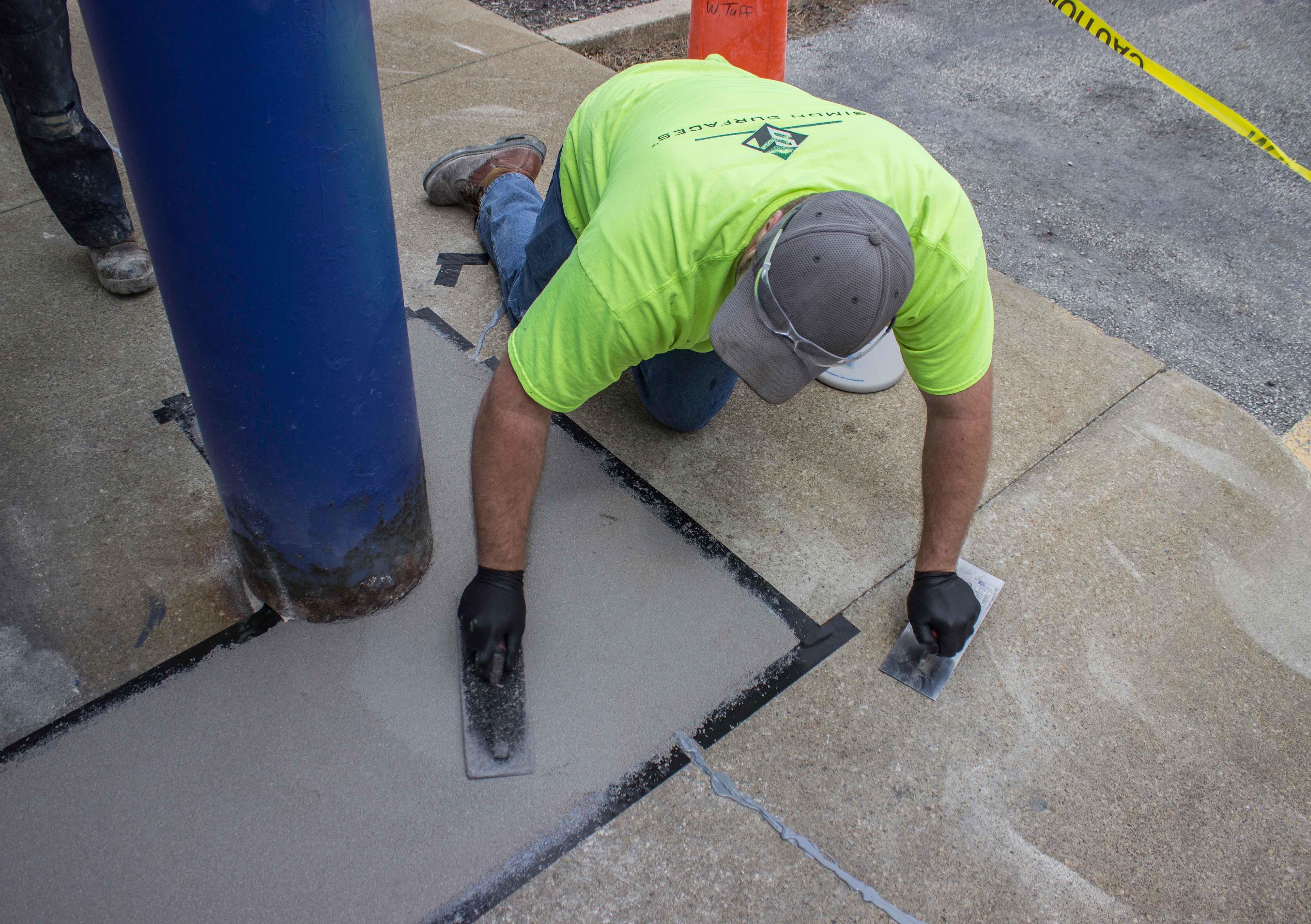 Epoxies In Concrete Repairs