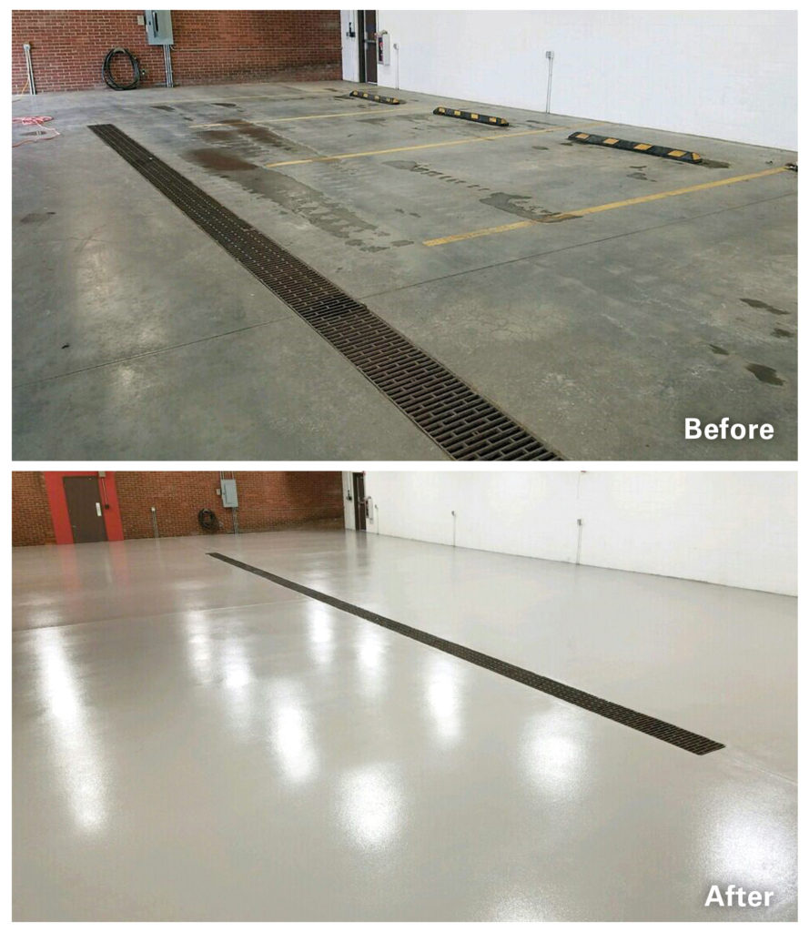 Before + After Concrete Alternative