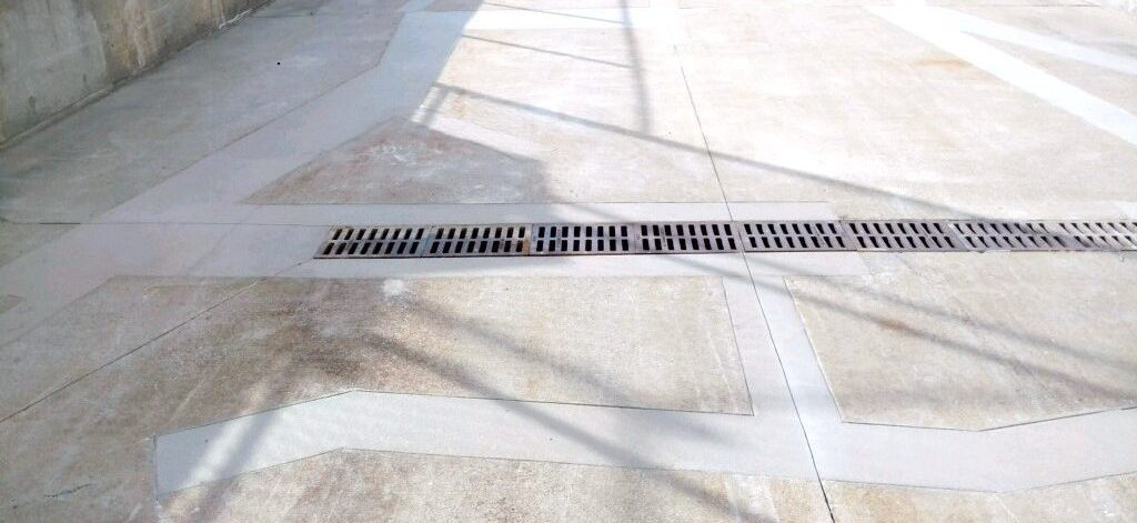 commercial/retail concrete sidewalk and curb repair services