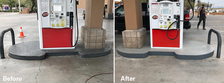 Fuel Island Restoration