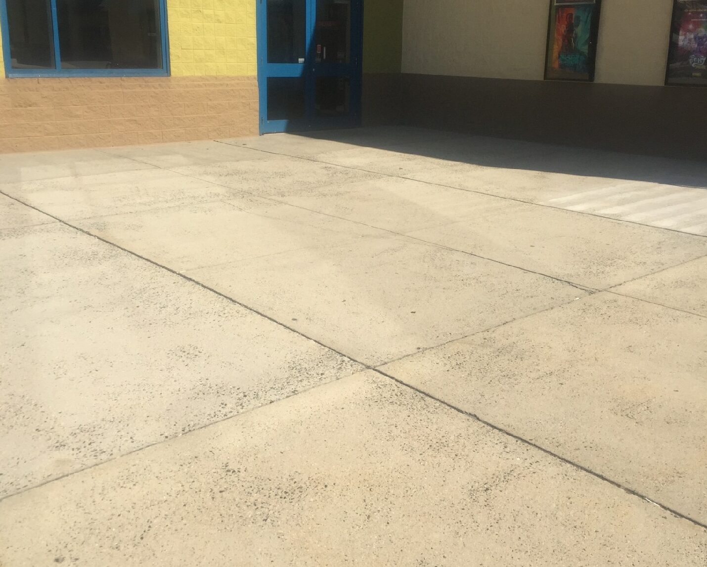Concrete Before